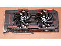 Powercolor TurboDuo R9 280x AMD 3GB Graphics card FAULTY