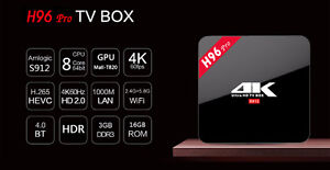 H96 PRO Android Tv Box COMBO - WEEKEND SPECIAL $150- 17.3