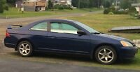 2002 Honda Civic Coupe EXCELLENT CONDITION-NEED GONE