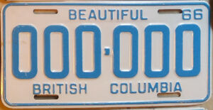 == Classic Car ?  Vintage Original License Plates ==