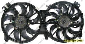 Cooling Fan Assembly Sedan 07-15/Coupe 08-13 Nissan ALTIMA 2007-2015
