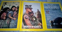 National Geographic (3) [10/1989; 4/1993; 5/1993]