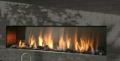 Barbara Jean Collection Outdoor Linear Fireplace 72