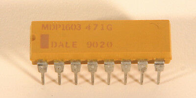 Dale Resistor Network - Mdp 1603-471 - 470 Ohms - 20 Pieces