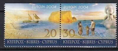 Cyprus 2004 CEPT Europa 2 MNH Stamps