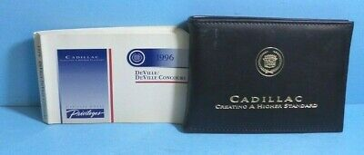 96 1996 Cadillac Deville/Deville Concours owners manual
