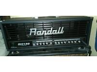Randall Amp Head 150watt tube/MOSFET GUITAR