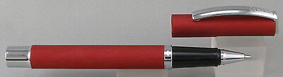 Online Germany Vision Red & Chrome Rollerball Pen - New In Box
