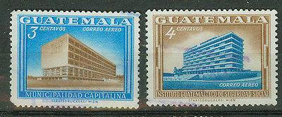 Guatemala Briefmarken 1964 Neubauten Mi.Nr.704+5