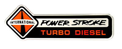 International Powerstroke Td Emblem Large Satin
