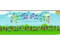 April angels childminding