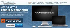 Laptop PC Mac Tablet & iPhone Repair Services Glasgow City Centre
