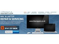 Laptop PC Mac Tablet & iPhone Repair Services Glasgow City Centre