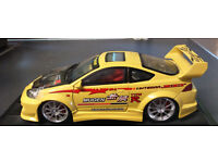 Honda Integra Type R (Mugen) in Yellow Scale 1:24