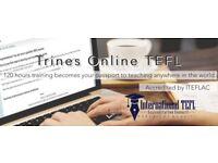 TEFL online course - 120 hr