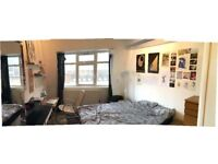 Double ensuite room to rent, 4 person flatshare, old warehouse building conversion in Homerton