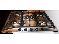 Gas Hob with 5 Rings
