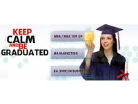Diploma in Business- Diploma in Project Management- MBA- MSc from £700