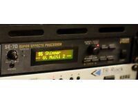 BOSS SE-70 & SE-50 Multi Effects units - U2 Shimmer