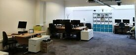 Spacious, air-conditioned office in Stokes Croft with high speed internet