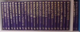 Life and Times of the Kings and Queens of England (25 vols)