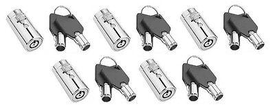 5 Pepsicokesoda Machine Vending Lock And Keys Dixie Narco Vendo-ships Free