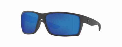 NEW Costa Del Mar Reefton Blackout Frame w/ Blue Mirror 580G Lens RFT01OBMGLP