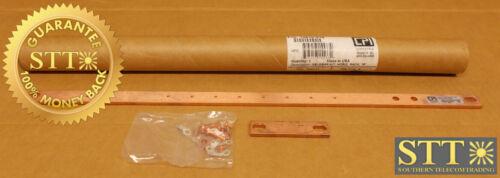 "10610-019 Chatsworth Grounding Busbar Kit 19"" Horizontal Rack Copper New"