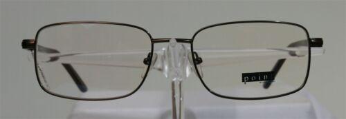 POINT 2015 Braun Brille Brillengestell Herren Eyeglasses Händler NEU