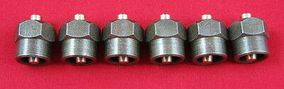 5.9L Cummins Diesel Injector Block-Off Tool / Cap (SET of 6) Miller 9011