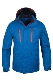 Mens Ski Jacket - Mountain Warehouse - Size: S - Colour blue - new with tags