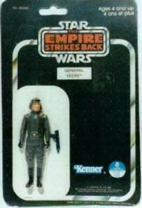 Vintage STAR WARS GENERAL VEERS ALL carded 3-PACKS SETS BOX