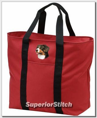 GREATER SWISS MOUNTAIN DOG tote bag ANY COLOR