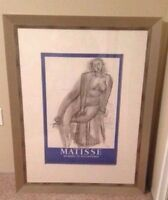 MATISSE painting copy worth $1900