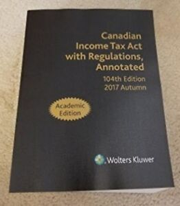 Income Tax Act 104th edition 2017