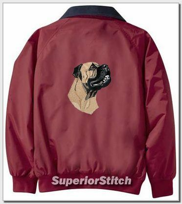 BULLMASTIFF embroiderd Challenger jacket ANY COLOR B