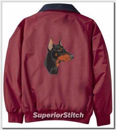 DOBERMAN PINSCHER Challenger jacket ANY COLOR B
