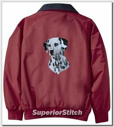 DALMATIAN embroiderd Challenger jacket ANY COLOR B