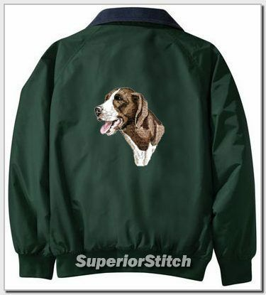 GERMAN SHORTHAIRED POINTER Challengr jacket ANY COLOR B