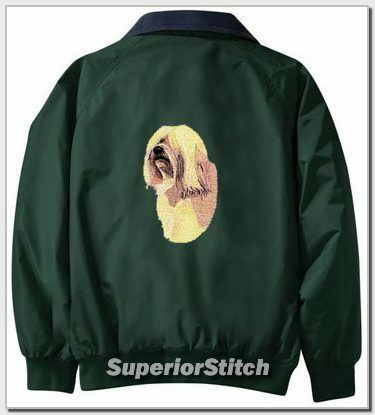 TIBETAN TERRIER Challenger jacket ANY COLOR B