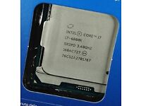 Intel i7 6800K CPU Processor