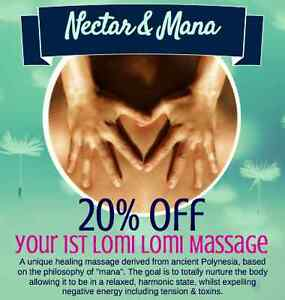 1st visit 20% off- Authentic traditional Lomi Lomi Kahuna Massage Parkville Melbourne City Preview