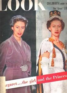 LOOK MAGAZINE JUNE 1954  FEATURES MARGARET-- THE GIRL & PRINCESS