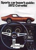 Corvette Sales Brochure