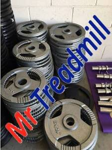 STEEL OLYMPIC PLATES - CHEAPEST IN BRISBANE - MR TREADMILL Geebung Brisbane North East Preview