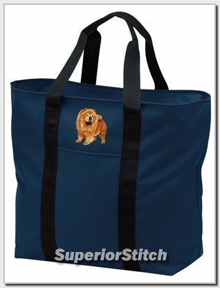 CHOW embroidered tote bag ANY COLOR