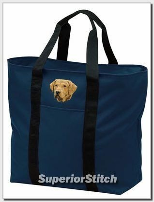 CHESAPEAKE BAY RETRIEVER embroidered tote bag ANY COLOR