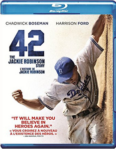 42 THE JACKIE ROBINSON STORY/HISTOIRE DE. BLURAY. BASEBALL