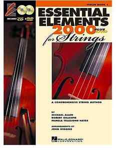 Essential Elements 2000 for Strings Plus DVD (text only) by H. L London Ontario image 1