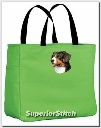 GREATER SWISS MOUNTAIN DOG essential tote bag ANY COLOR